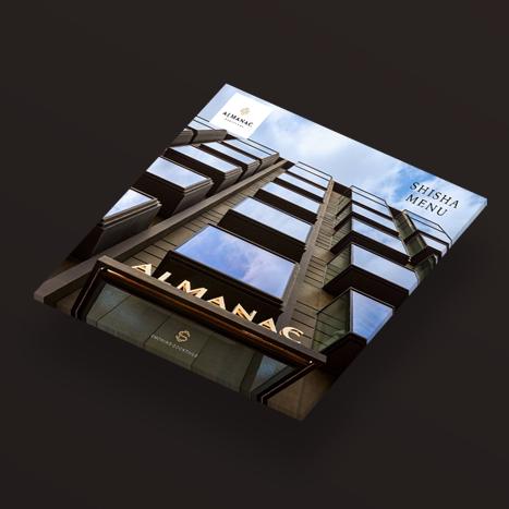 Almanac Barcelona - Shisha Menu